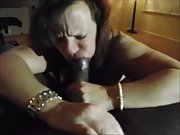 Nasty wife craving a huge black dick in her crevices