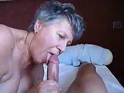 A killer grandma just enjoys a thick cock