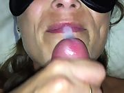 Another thick facial cumshot for the wife